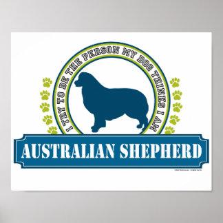 Berger australien poster
