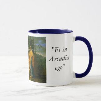 Bergers à la tasse de café d'Arcadie
