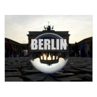 BERLIN de porte de Brandebourg, barrière de Brande