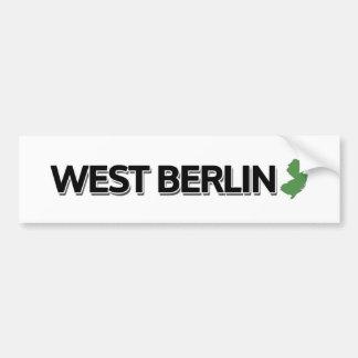 Berlin-Ouest, New Jersey Autocollant De Voiture