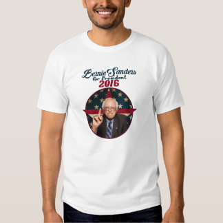 Bernie Sanders voor President 2016 Tshirts