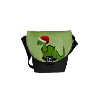 Besace Dinosaure de Noël