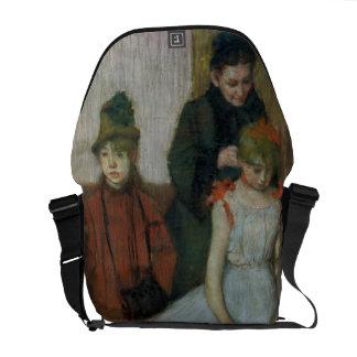 Besace Femme d'Edgar Degas | avec deux petites filles