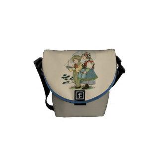 Besace Mini sac messenger à enfants bretons français