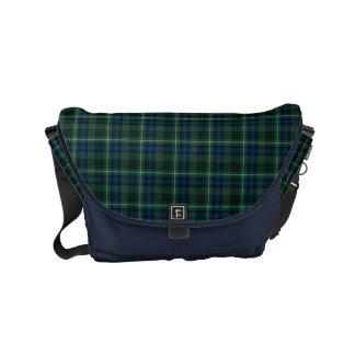 Besace Tartan écossais vert de chasse de Stewart de clan