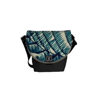 Besace Vert du sac messenger à tropiques