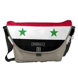 Besaces Le drapeau de la Syrie