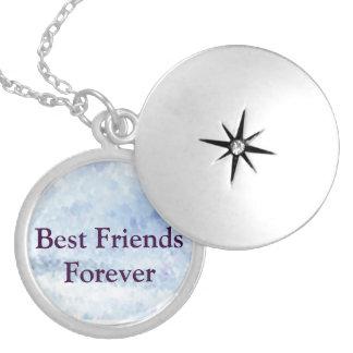 Beste Vrienden voor altijd Zilver Vergulden Ketting