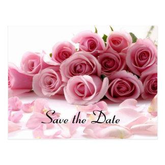 Betoverend sparen de datum briefkaart