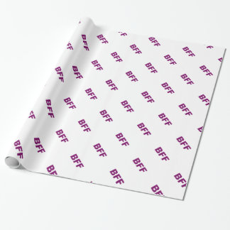 BFF schittert Inpakpapier