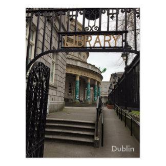 Bibliothèque nationale de l'Irlande, Dublin, Carte Postale