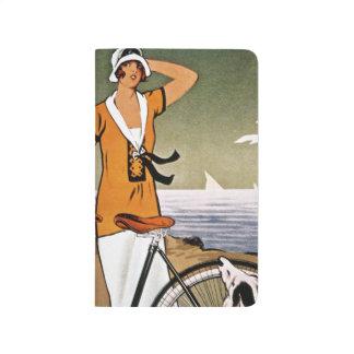 Bicyclette Ad, 1925 Carnet De Poche
