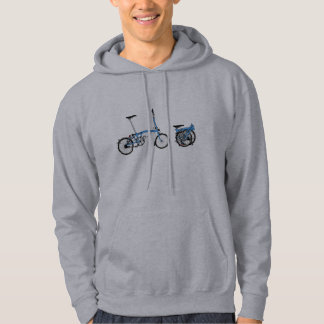 Bicyclette de Brompton Veste À Capuche
