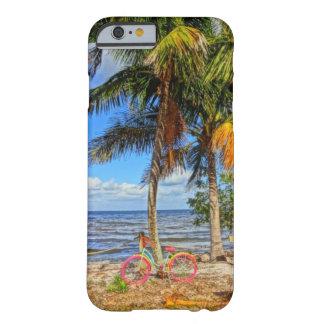 Bicyclette sur l'île la Floride de pin de Matlacha Coque iPhone 6 Barely There