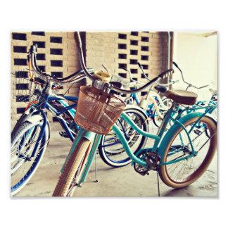 Bicyclettes vintages photos d'art