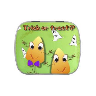Bidons de Jelly Belly de cadeau de Halloween Boite Jelly Belly