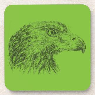 Bientôt Eagle Portrait Sous-bock