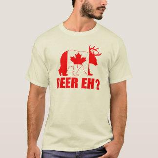 BIER EH?  Grappig draag T-shirt van de Vlag van