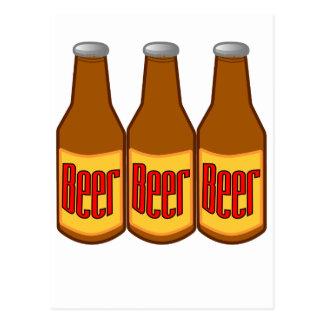 Bière ! carte postale