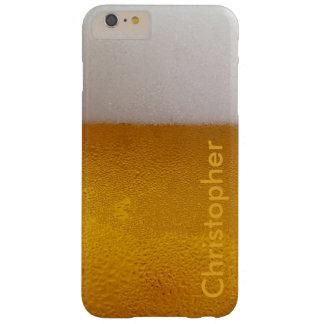 Bière froide personnalisée drôle coque barely there iPhone 6 plus