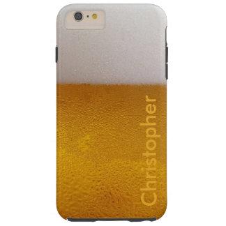 Bière froide personnalisée drôle coque iPhone 6 plus tough
