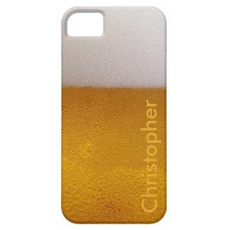 Bière froide personnalisée drôle étuis iPhone 5
