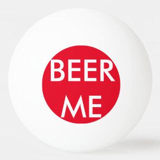 Bière je boule de ping-pong balle de ping pong