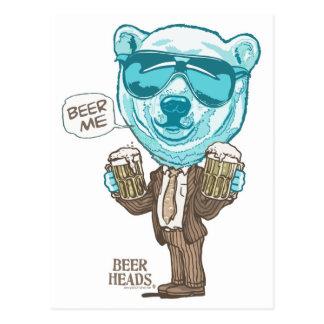 Bière j'ours blanc par des studios de Mudge Carte Postale
