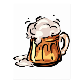 Bière Stein pour Octoberfest Carte Postale