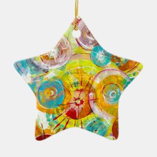 Big Bang 2 Ornement Étoile En Céramique
