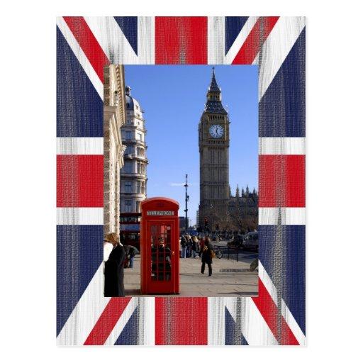 Big ben et cabine t l phonique rouge londres cartes - Cabine telephonique anglaise a vendre ...