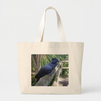 Big_Black_Parrot. Grand Tote Bag