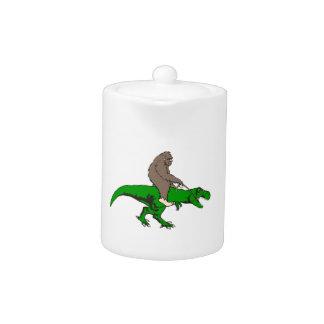 Bigfoot montant T Rex