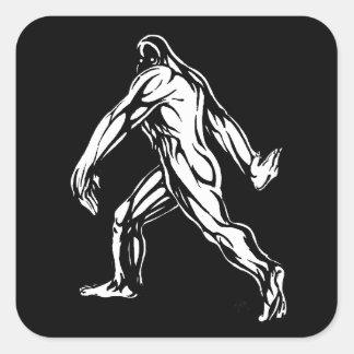 Bigfoot Sticker Carré
