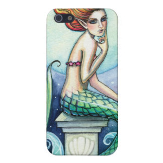 Bijou du coque iphone de sirène de mer étui iPhone 5