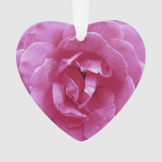 Bijoux - pendentif - rose foncé de rose
