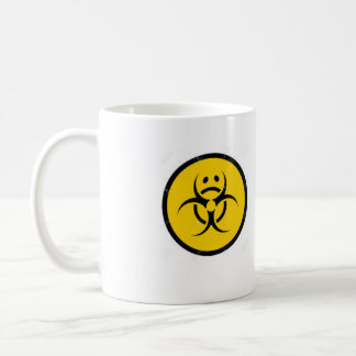 Bio triste de tasse de café