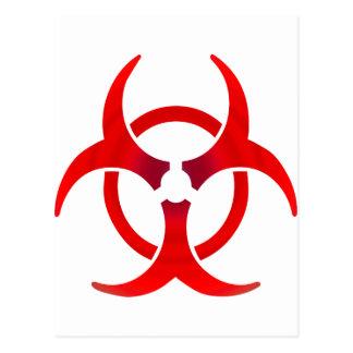 Biohazard - ROUGE Cartes Postales