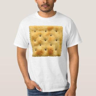 Biscuits de soude blancs de Saltine T-shirt