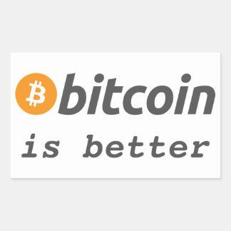 Bitcoin est un meilleur autocollant de Cryptocoin