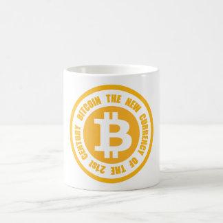 Bitcoin la nouvelle devise du 21ème siècle mug blanc