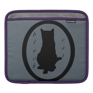black cat poche iPad