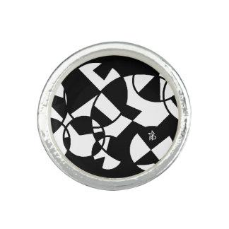 black circle bague avec photo