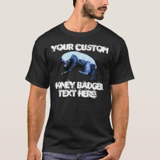 Blaireau de miel - votre texte fait sur commande t-shirt