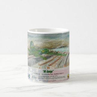 """Blanc de """"MI Amigo"""" tasse blanche classique de 325"""
