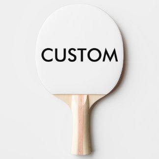 Blanc de palette de ping-pong personnalisé par raquette tennis de table