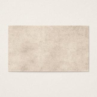 Blanc de papier vintage de modèle de papier cartes de visite
