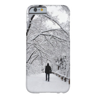Blanc dehors d'hiver coque iPhone 6 barely there