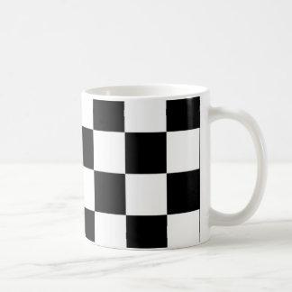 blanc noir d'e mug