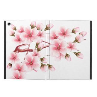Blanc rose de l'OM de fleurs de cerisier